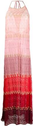 Missoni Mare Colour-Block Crochet Dress