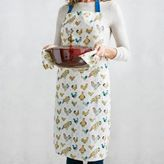 Sur La Table Jacques Pépin Collection Assorted Chickens Linen Kitchen Apron