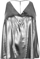 River Island Womens Plus silver T-bar cami top