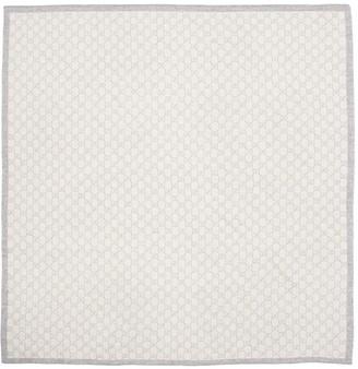 Gucci Logo Jacquard Wool Blanket