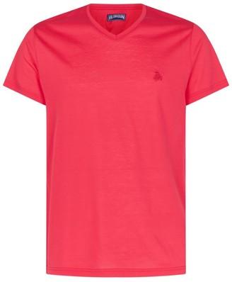 Vilebrequin Cotton V-Neck T-Shirt