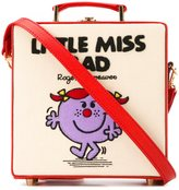 Olympia Le-Tan small Little Miss Bad box tote - women - Cotton/Calf Leather - One Size