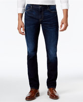 William Rast Men's Slim-Fit Straight-Leg Dean Dark Ash Jeans