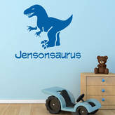 Simply Colors Personalised Dinosaur Wall And Door Sticker