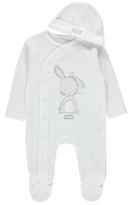 George Bunny Sleepsuit and Hat Set