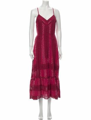 LoveShackFancy Printed Long Dress w/ Tags