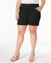 Style and Co Plus Size Shorts, Created for Macy's