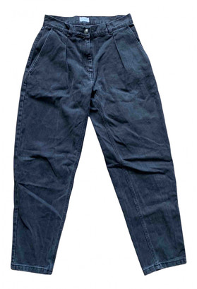 Magda Butrym Anthracite Cotton Jeans