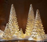 Pottery Barn Lit Mercury Glass Tree