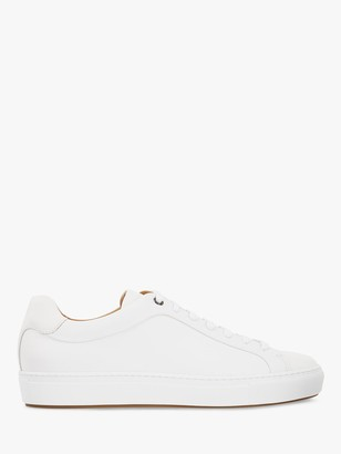 HUGO BOSS Mirage Leather Trainers, 100 White