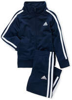 adidas Infant Boys) Two-Piece Tricot Jacket & Joggers Set