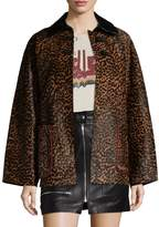 Isabel Marant Women's Elder Leather Coat