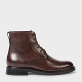 Paul Smith Women's Brown Calf Leather 'Chesil' Boots