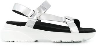 Hogan Active touch-strap sandals