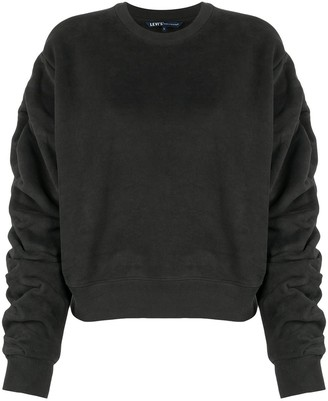 Levi's Made & Crafted Ruched-Sleeves Jumper