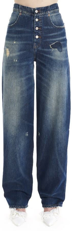 MM6 MAISON MARGIELA Distressed Jeans