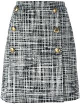 Moschino tweed skirt - women - Polyamide/Polyester/Acetate/other fibers - 42