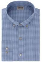 Kenneth Cole Reaction Men's Techni-Cole Slim-Fit Flex Collar Stretch Blue Dawn Broadcloth Dress Shirt