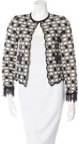 Chanel Checkered Lace Jacket