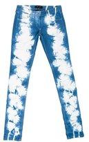 Isabel Marant Tie-Dye Straight-Leg Jeans