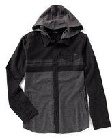 O'Neill Jacinto Flannel Hooded Long-Sleeve Shirt