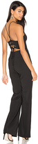 Astr Gia Jumpsuit in Black. - size L (also in )