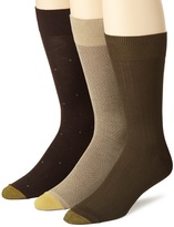 Gold Toe Men's Rayon Fashion 3 Pack Socks