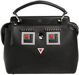 Fendi Small Dotcom Click Faces Leather Bag