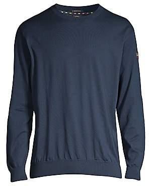 Paul & Shark Men's Yachting Crewneck Cotton Sweater