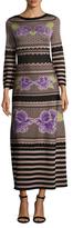 Temperley London Venturer Intarsia Maxi Dress