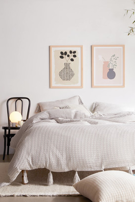 Urban Outfitters Waffle Weave Duvet Cover