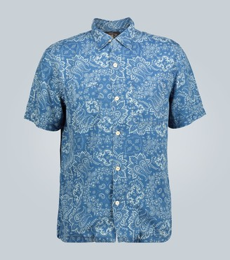 Ralph Lauren RRL Bandana-print short-sleeved shirt