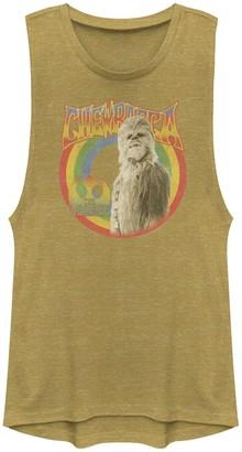 Star Wars Juniors' Chewbacca The Wookie Retro Portrait Muscle Tank