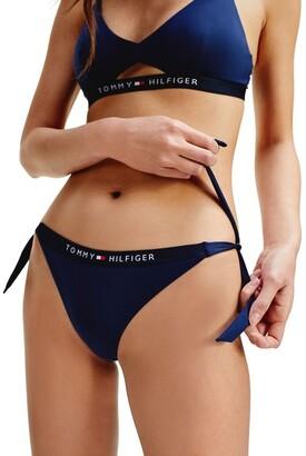 Tommy Hilfiger Cheeky Side Tie Bikini Bottom
