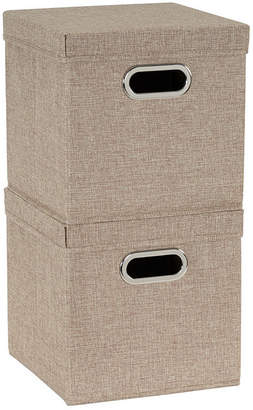 Household Essentials 2-Pc. Cafe Storage Box Set