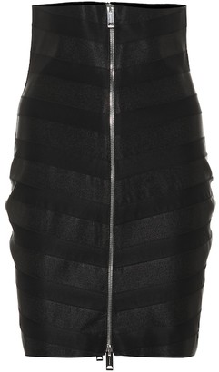 Burberry Paneled skirt