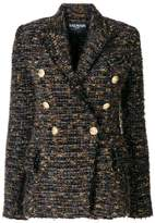 Balmain button-embellished tweed blazer