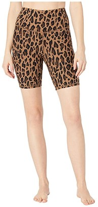 Michi Instinct Bike Shorts (Leopard) Women's Shorts