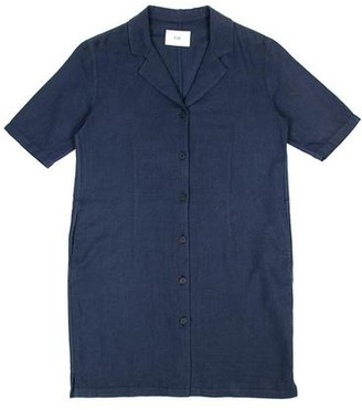 Folk Soft Collar Dress Navy - 1 / XS / 28