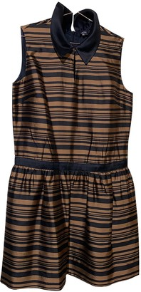 Raoul Brown Silk Dress for Women