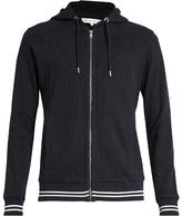 Orlebar Brown Mathers zip-through hooded cotton sweatshirt
