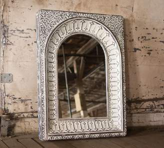 Pottery Barn Pressed Metal Arch Wall Mirror