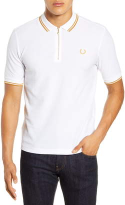 Fred Perry Zip Front Pique Polo