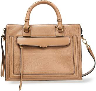 Rebecca Minkoff Pebbled And Smooth-leather Tote