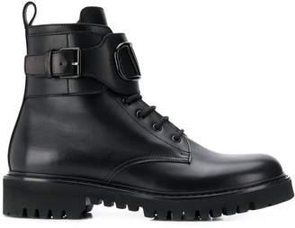 Valentino Garavani VLOGO combat boots