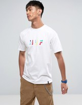 HUF T-Shirt With Shadow Logo