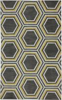 Karastan Panache Honey Queen Bungee Cord Rug (56 X 83)
