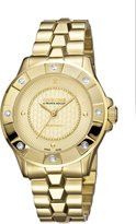 Roberto Cavalli DIAMOND BEZEL Women's Swiss-Quartz Stainless Steel Bracelet Diamond Watch