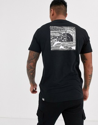 The North Face Red Box Celebration t-shirt in black