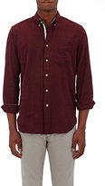 Rag & Bone Men's Cotton Flannel Shirt-RED